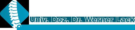 Univ. Doz. Dr. Werner Lack - Orthopädie & orthopädische Chirurgie